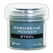 Ranger Embossing Powder 34ml - Steel Metallic EPJ66873