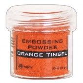 Ranger Embossing Powder 34ml -  Orange Tinsel EPJ64558