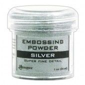 Ranger Embossing Powder 34ml - silver super fine EPJ37415