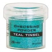Ranger Embossing Powder 34ml -  Teal Tinsel EPJ64589