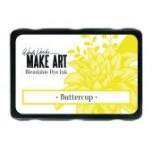 Ranger MAKE ART Dye Ink Pad Buttercup - Wendy Vecchi (WVD64299)