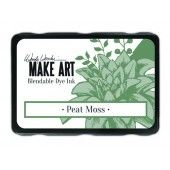 Ranger MAKE ART Dye Ink Pad Peat Moss - Wendy Vecchi (WVD64343)
