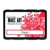 Ranger MAKE ART Dye Ink Pad Poppy - Wendy Vecchi 5,8x8,3cm (WVD62622)*