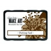Ranger MAKE ART Dye Ink Pad Potting Soil - Wendy Vecchi(WVD64367)