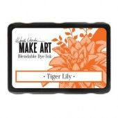 Ranger MAKE ART Dye Ink Pad Tiger Lily Wendy Vecchi (08-19) (WVD64404)