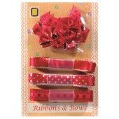 Ribbons & Bows - Red