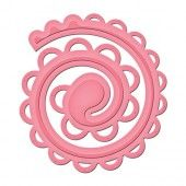 Shapeabilities Spiral Blossom Two - Spellbinders
