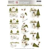 3D Push out - Precious Marieke - Rustic Christmas 4