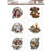 3D Push out - Amy Design - Christmas Greetings - Topper