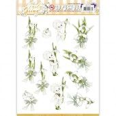 3D Pushout - Precious Marieke - Early Spring - Early Snowdrops