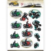 3D Pushout -  Amy Design - Daily Transport - Motor Cycling