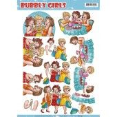 3D Pushout - Yvonne Creations - Bubbly Girls - Crafting Girls