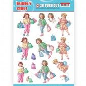 3D Pushout - Yvonne Creations - Bubbly Girls - Shopping