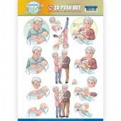 3D Pushout - Yvonne Creations - Active Life - Grandparents