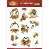 3D Pushout - Amy Design - Touch of Christmas - Birds