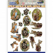 3D Push Out - Amy Design Forest Animals - Fox