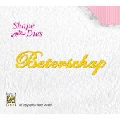 Shape Dies - Dutch text Beterschap (SD048)