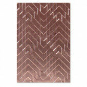 Sizzix 3-D Textured Impressions Emb. Folder - Staggered Chevrons Georgie Evans 664761 (10-20)*