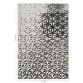 Sizzix 3-D Textured Impressions Emb. Folder Star Fall 664508 Georgie Evans (07-20)*