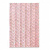 Sizzix 3-D Textured Impressions Embossing Folder - Knitted Jessica Scott 664509  (10-20)