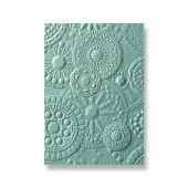 Sizzix 3-D Textured Impressions Embossing Folder - Mosaic Gems  - Courtney Chilson (663206)*
