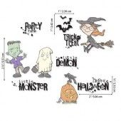 Sizzix Clear Stamps - Fright Night! by Pete Hughes 664476 Pete Hughes (07-20)*