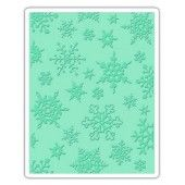 Sizzix Texture Fades Embossing Folder Simple Snowflakes Tim Holtz (662432)*