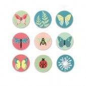 Sizzix Thinlits Die Set - 10PK Tiny Nature 663590 Lynda Kanase (04-19)*