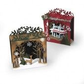 Sizzix Thinlits Die Set 19PK - Holiday Shadowbox Katelyn Lizardi (662284)