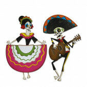 Sizzix Thinlits Die Set - 21PK Day of the Dead Colorize Tim Holtz 664969 (10-20)*