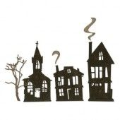 Sizzix Thinlits Die Set - 5PK Ghost Town 664194 Tim Holtz (07-19)*