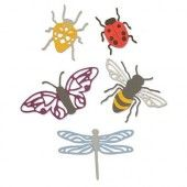 Sizzix Thinlits Die Set - 5PK Insects 663423 Jennifer Ogborn (07-19)*