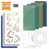 Hobbydots Sparkles - Set 5 - Flowers & Birds