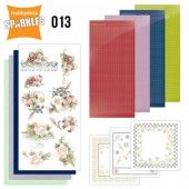 Hobbydots Sparkles - Set 13 - Red Summer Flowers