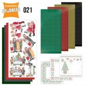 Hobbydots Sparkles - Set 21 - Family Christmas