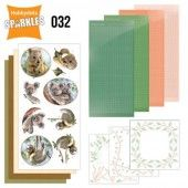 Hobbydots Sparkles - Set 32 - Amy Design - Wild Animals - Outback