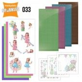 Hobbydots Sparkles - Set 33 - Yvonne Creations - Bubbly Girls - Party