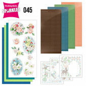 Hobbydots Sparkles - Set 45 - Jeanine's Art - The Colors of Winter - Pink Winter Flowers