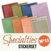 Stickerset - Specialties 11