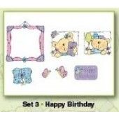 Clearstamp - Card Deco - Happy Birhtday - ST10003