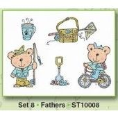 Clearstamp - Card Deco - Fathers - ST10008