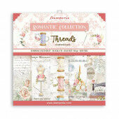 Stamperia Romantic Threads 12x12 Inch Paper Pack (SBBL88)