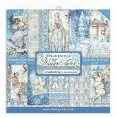 Stamperia Winter Tales 12x12 Inch Paper Pack (SBBL76)