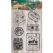Studio Light Clearstempel A6 Industrial 3.0 nr 318 (STAMPIN318)
