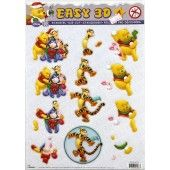 3D Push out - Disney - Winnie the Pooh 4