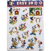 3D Push out - Disney - Mickey and friends 10