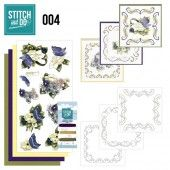 Stitch and Do 04 - Voorjaarsbloemen