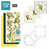 Stitch and Do 08 - Gele bloemen