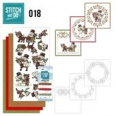 Stitch and Do 18 - Snowman & Reindeer