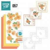 Stitch and Do 57 - Oranje rozen